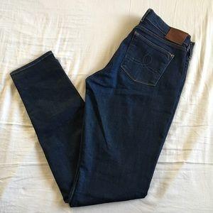 Lucky Brand Sofia Skinny Jeans White Oak Cone